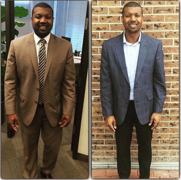 Sean has lost over 44 lbs! Sean accredits his success to his focus. He believes that when you focus on what you want to achieve you increase your likely hood of success. Stay focusses and be positive!