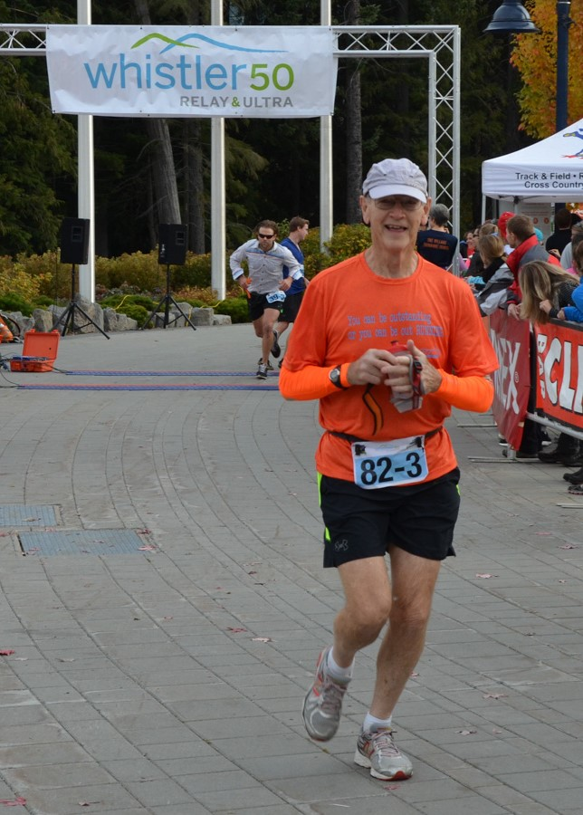 Featured above is one of the most inspirational people I have had the pleasure of meeting. Jim Paugh is one of BC's top marathon runners for his age group. Age truly is just a number.