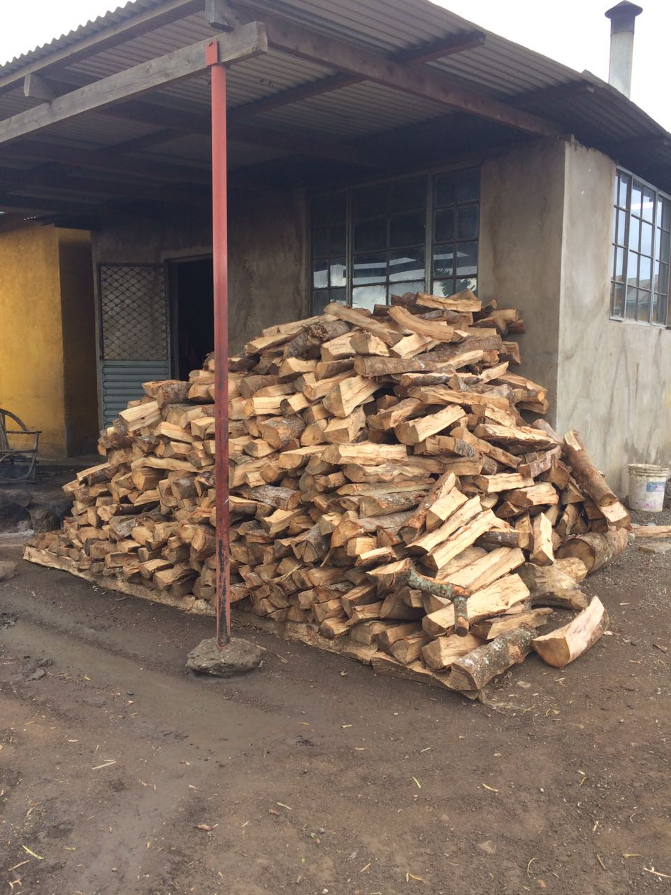 Firewood has been purchased and all of the water tanks have been filled, which will get us through the next few months.