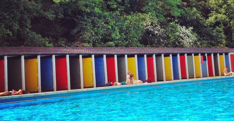 Tooting Bec Lido -  The Resident