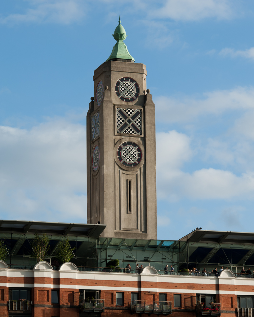 The Oxo Tower    Visit the restaurant if you can
