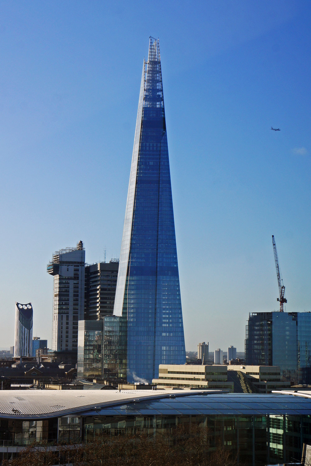The Shard   £25 to see The View or visit one of the bars