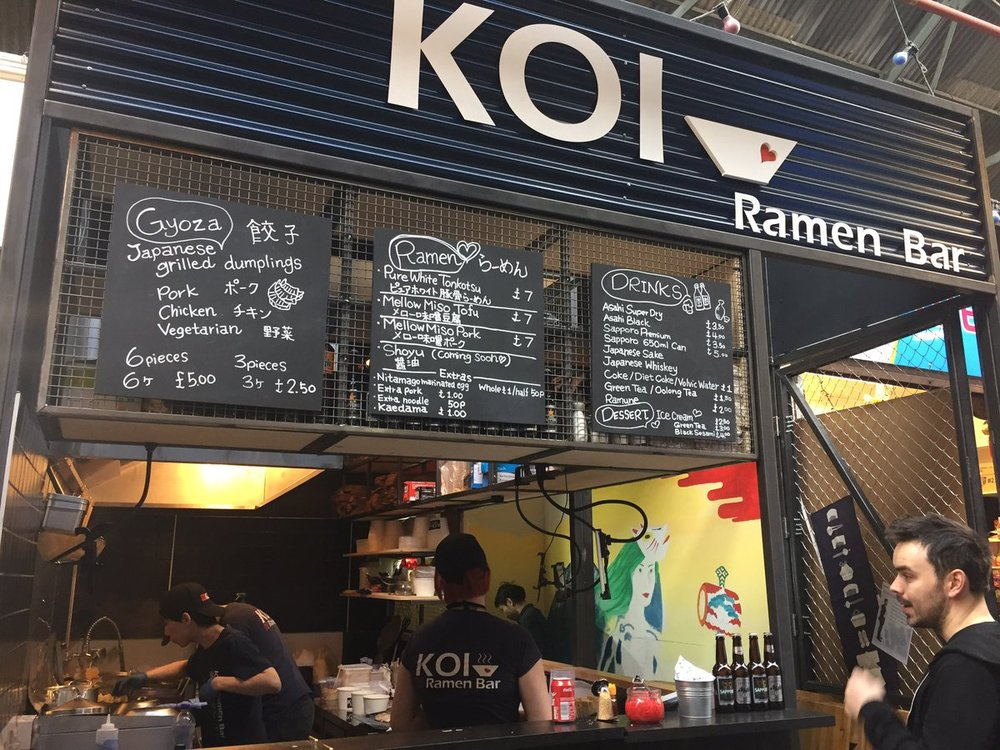 KOI Ramen Bar   Tooting Market