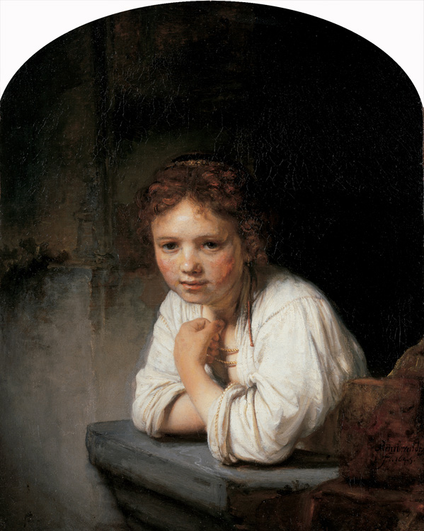 Girl in the Window, Rembrandt