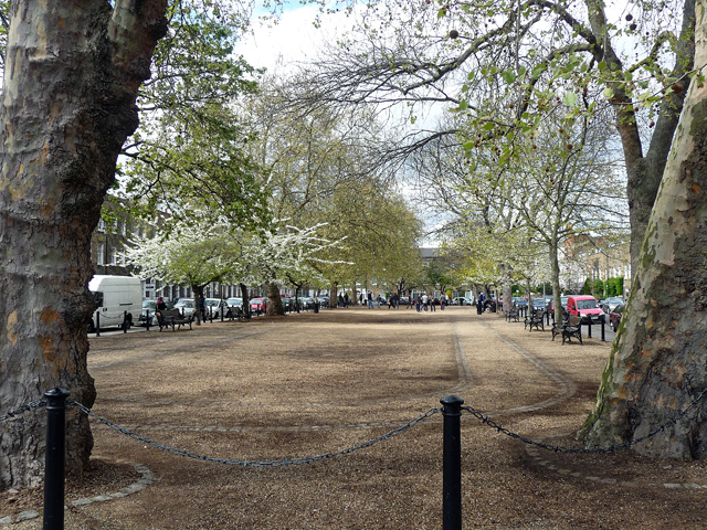 Cleaver Square in Kennington