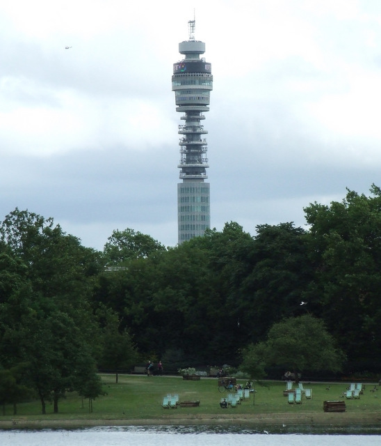 BT Tower From Regents Park