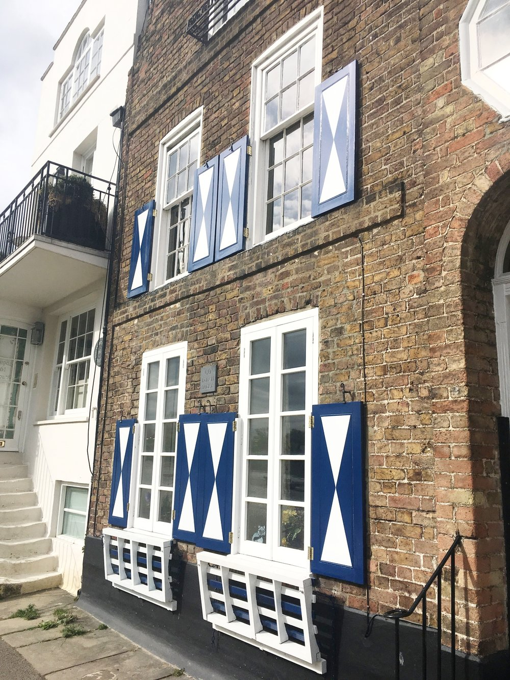 Shutters on the Strand