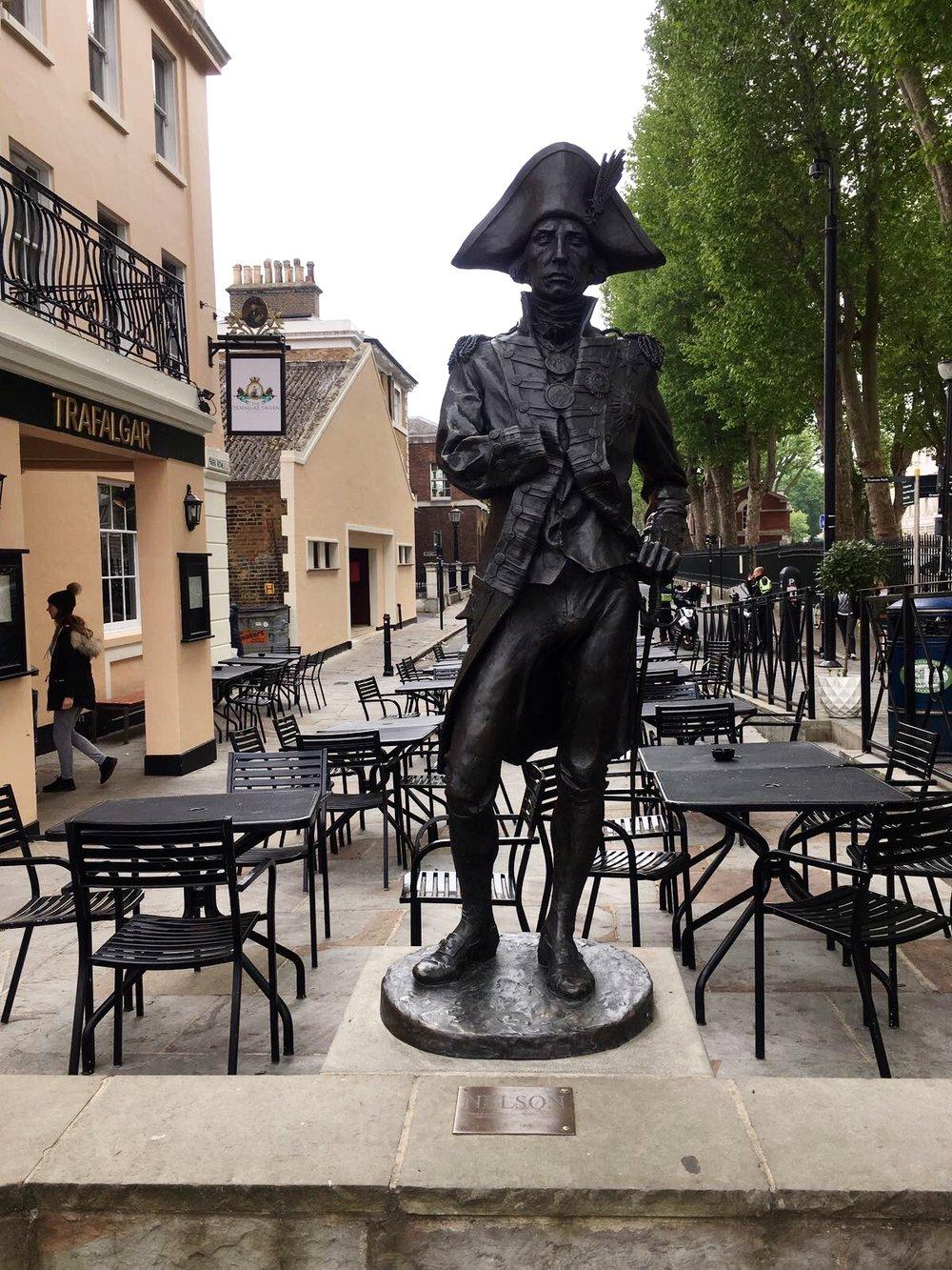 Nelson at The Trafalgar
