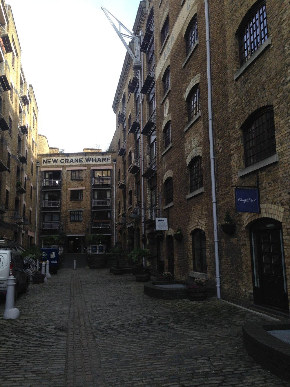 Wharves of Wapping