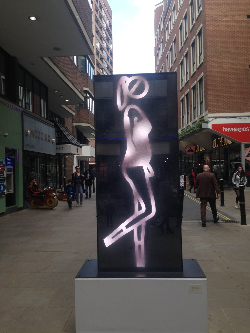 Walking Woman Installation