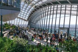 Must Do - Book in advance to see the view from the Sky Garden     Sky Garden Website