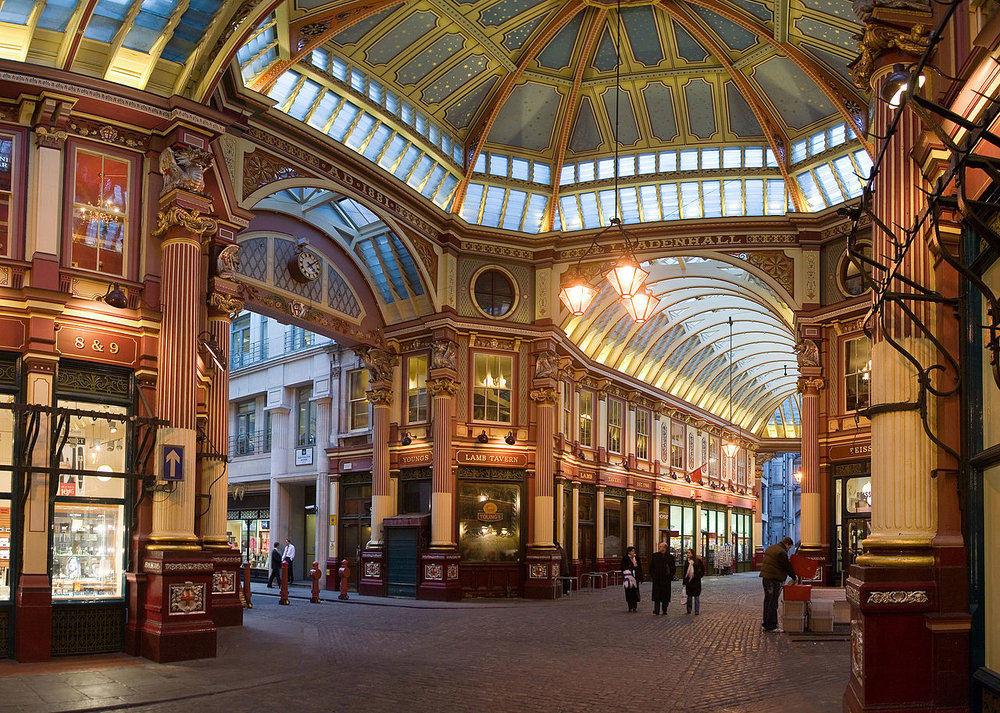 Must Do - Look around Leadenhall Market