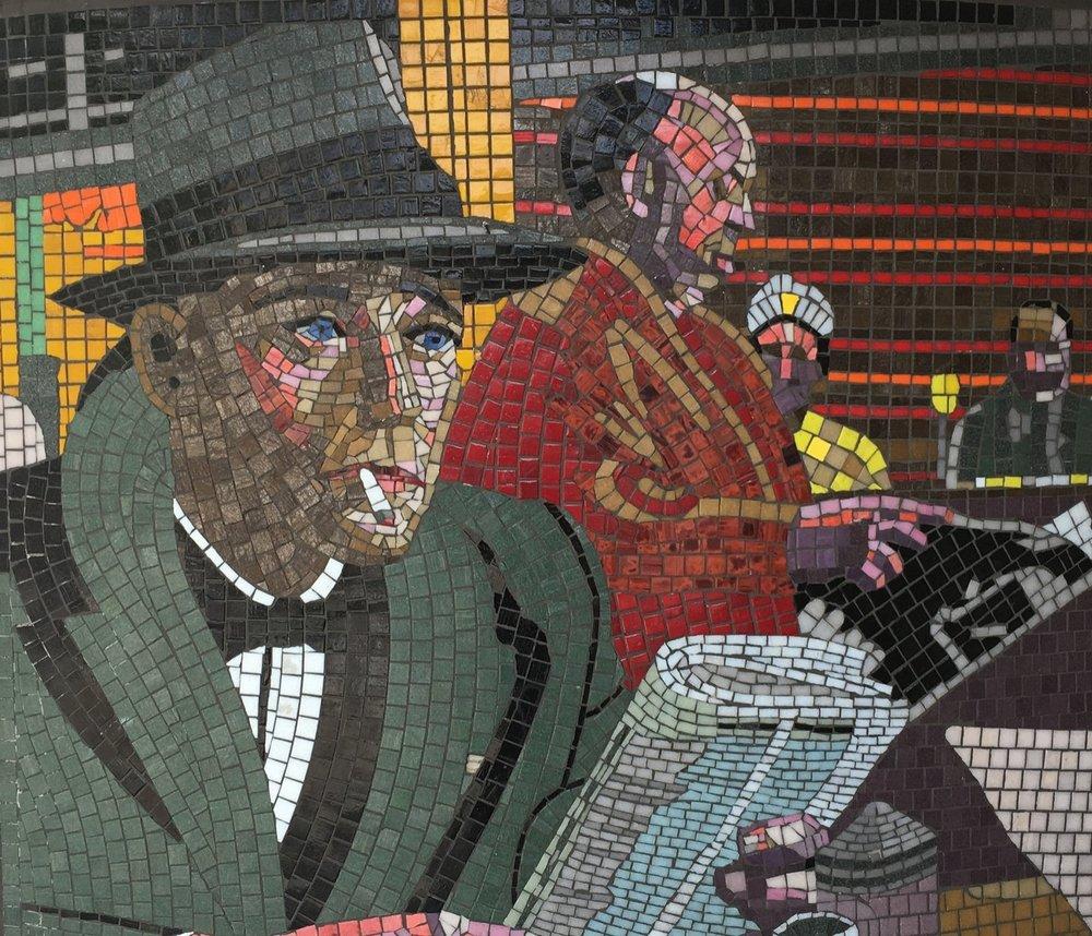 Leytonstone Tube Station Mosaics
