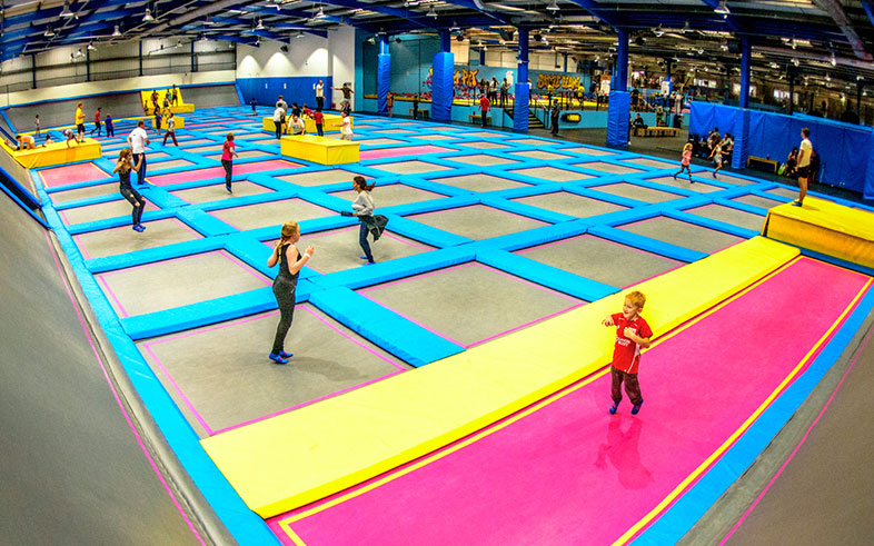 The worlds largest trampoline park. What's not to like about that?!     £ | 5 Patchway Trading Estate, Britannia Rd, Patchway, Bristol BS34 5TA |  Website