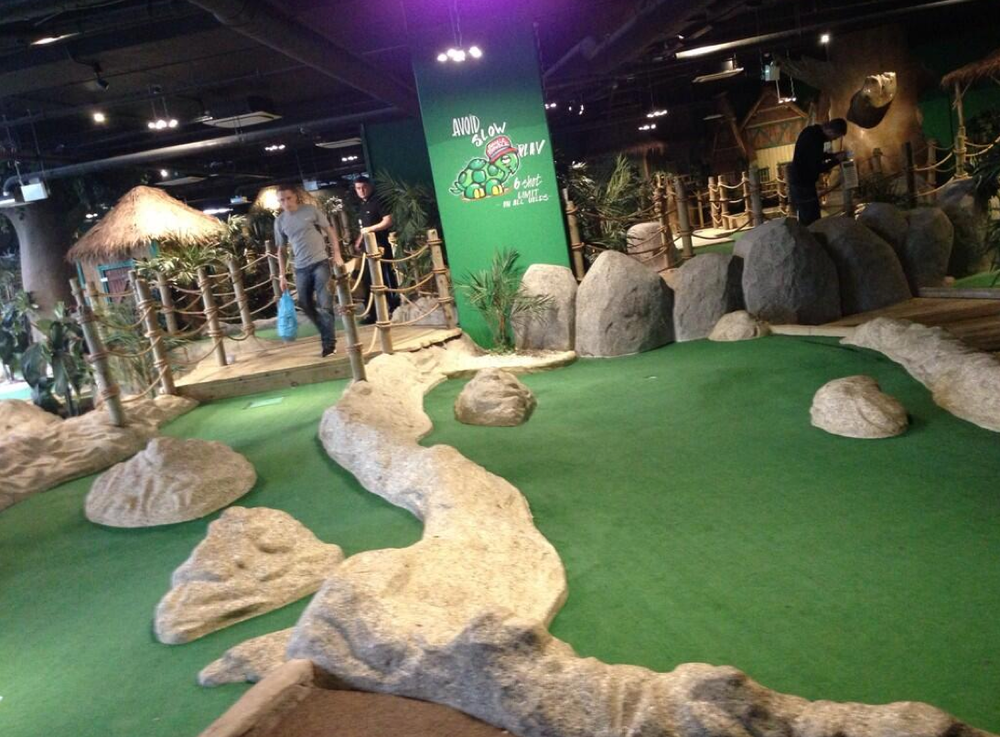 Adventure Golf/ Mini Golf in Cabot Circus. Sure to have plenty of laughs and add a competitive edge to any date.     £ | Cabot Circus Shopping Centre, 76 Glass Walk, Bristol BS1 3BQ |  Website