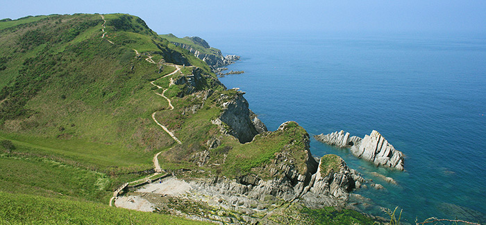 Pick up the South West Coast Path and enjoy the splendid views across Devon.     FREE | South West Coast Path |  Website