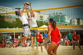 Try your hand at beach volleyball at the Yellowave Centre. Or relax and watch the sport in the cafe there.     ££ | Yellowave Beach Sports | 299 Madeira Dr, Brighton BN2 1EN |  Website