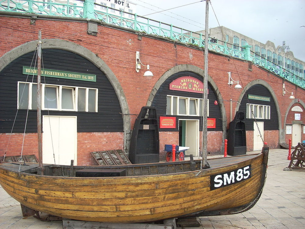 Learn about Brighton's past at the Brighton Fishing Museum.     FREE | Brighton Fishing Museum | 201 King's Rd, Brighton BN1 1NB |  Website