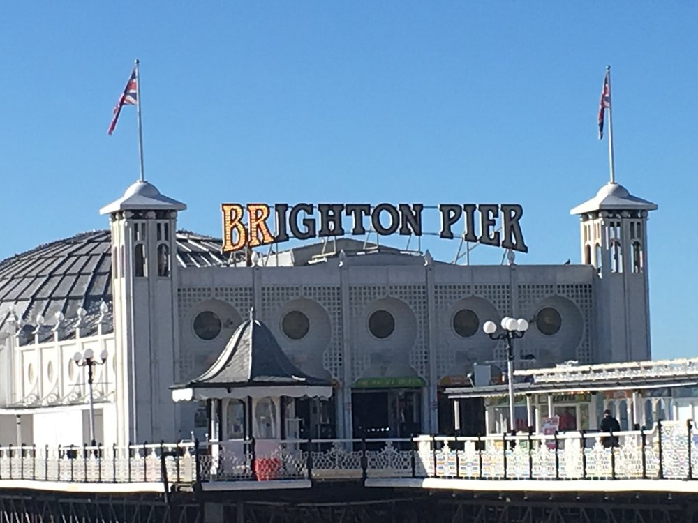 Hit the arcades and grab some churros along the famous Brighton Pier.     £ | Brighton Pier Arcade | Madeira Dr, Brighton BN2 1TW |  Website
