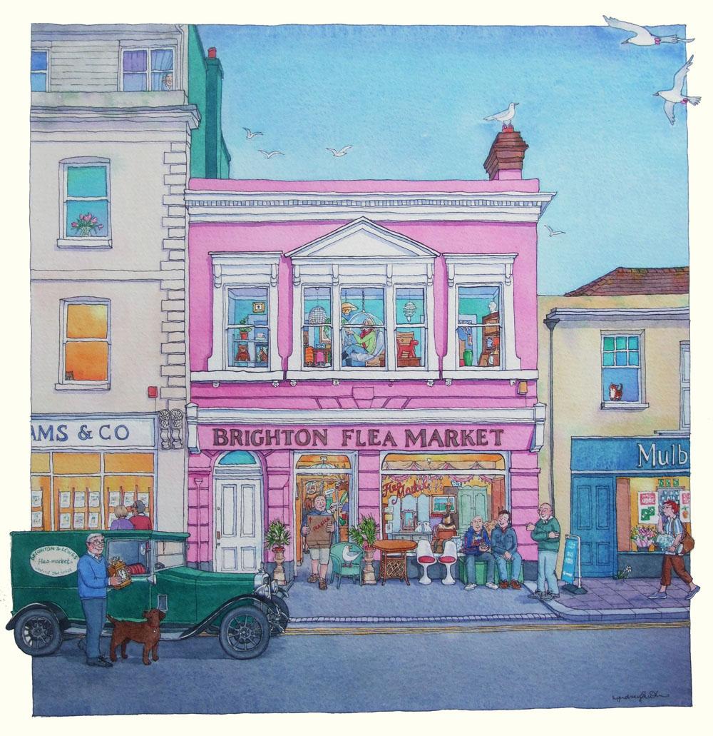 Visit the Brighton Flea Market and find yourself a bargain.    £ | Brighton Flea Market | 31a Upper St. James's Street, Brighton, BN2 1JN |  Website