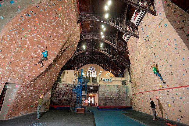 Try out some climbing on your next date at the Glasgow Climbing Wall.     ££ | Glasgow Climbing Centre | 534 Paisley Rd W, Glasgow G51 1RN |  Website