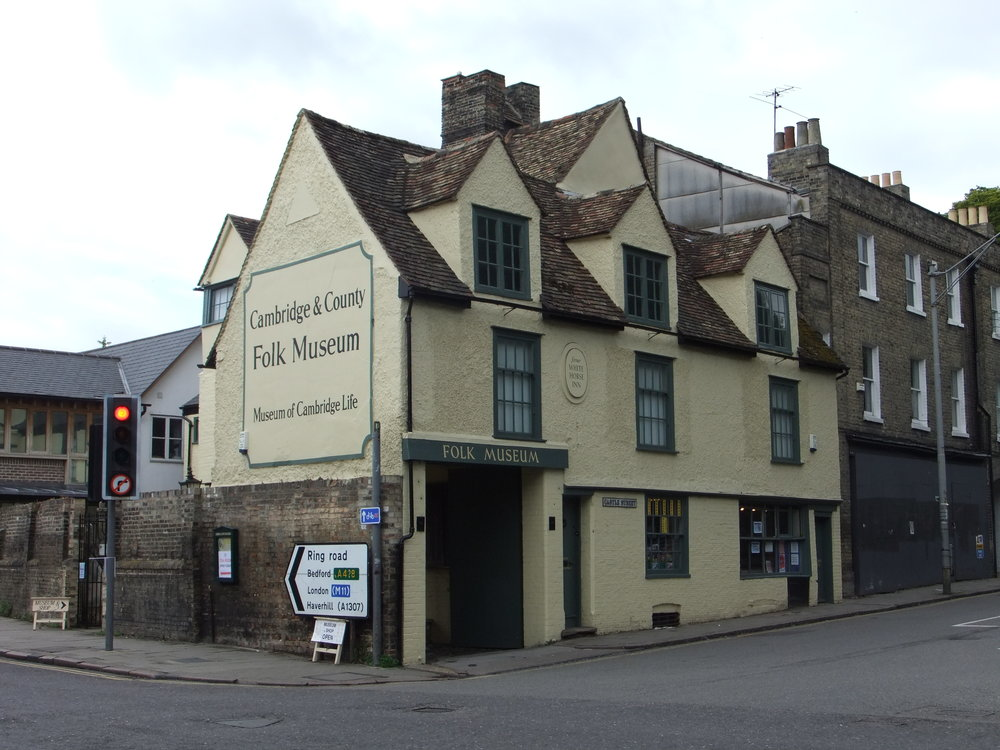 The Folk Museum is in a former pub and has an eclectic mix of antiques, art, social history and toys.     FREE | Cambridge Folk Museum | 2/3 Castle St, Cambridge CB3 0AQ |  Website