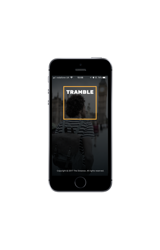 Download the Tramble App on iOS or Android.