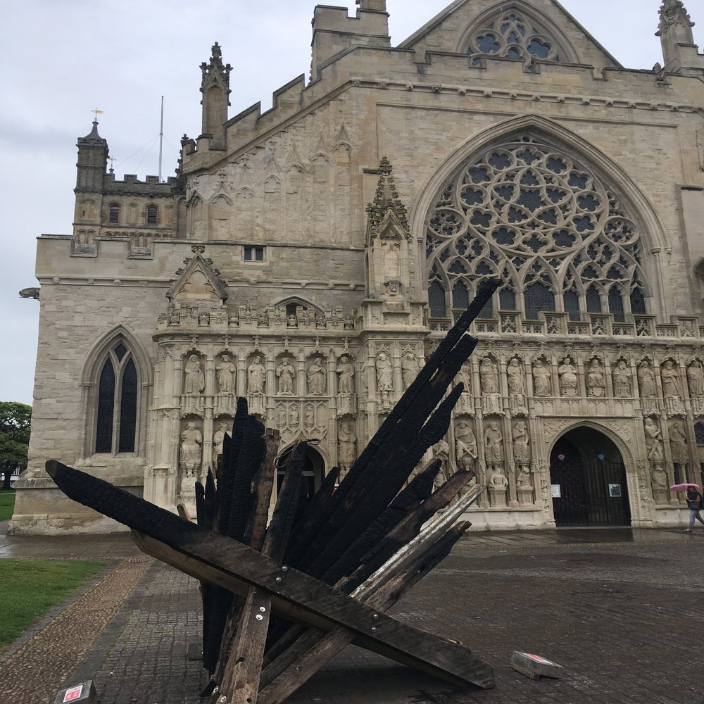 Exeter Cathedral Tramble - 60 Minutes | 10 Questions | Easy Difficulty (Ages 6+)Start at Exeter Central Station.This Tramble is the perfect kids activity. Start off in the high street, see the cathedral before heading down to the busy quayside for a couple more questions. Want to make it a day out with the kids?-Have a picnic by the Cathedral-Hire a canoe on the quayside-Grab a pizza at The WaterfrontHow to get this codebreaking challenge on your phone?Download the Tramble App on the Apple Store or Google Play, log in and search for 'Exeter' | Click this image to download the app now.