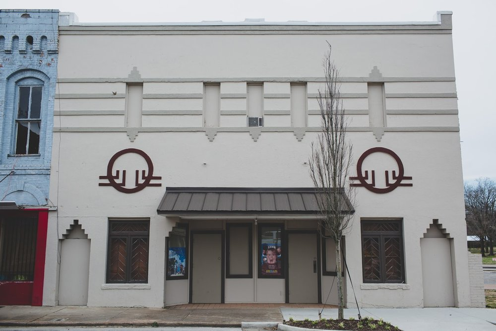 Facade of The Bells Theatre 115 E Main Street in Bells, Tennessee. Help us revive our theatre! bit.ly/bellstheatre