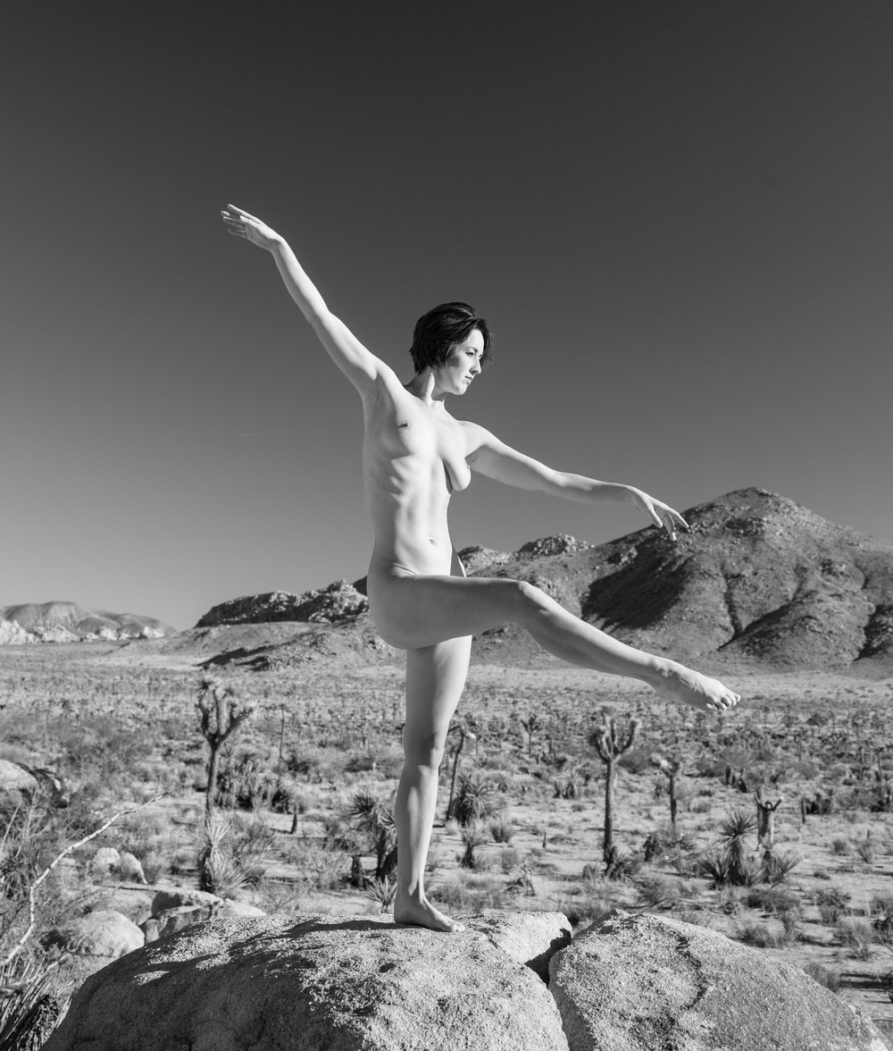 Nymph at Joshua Tree 1