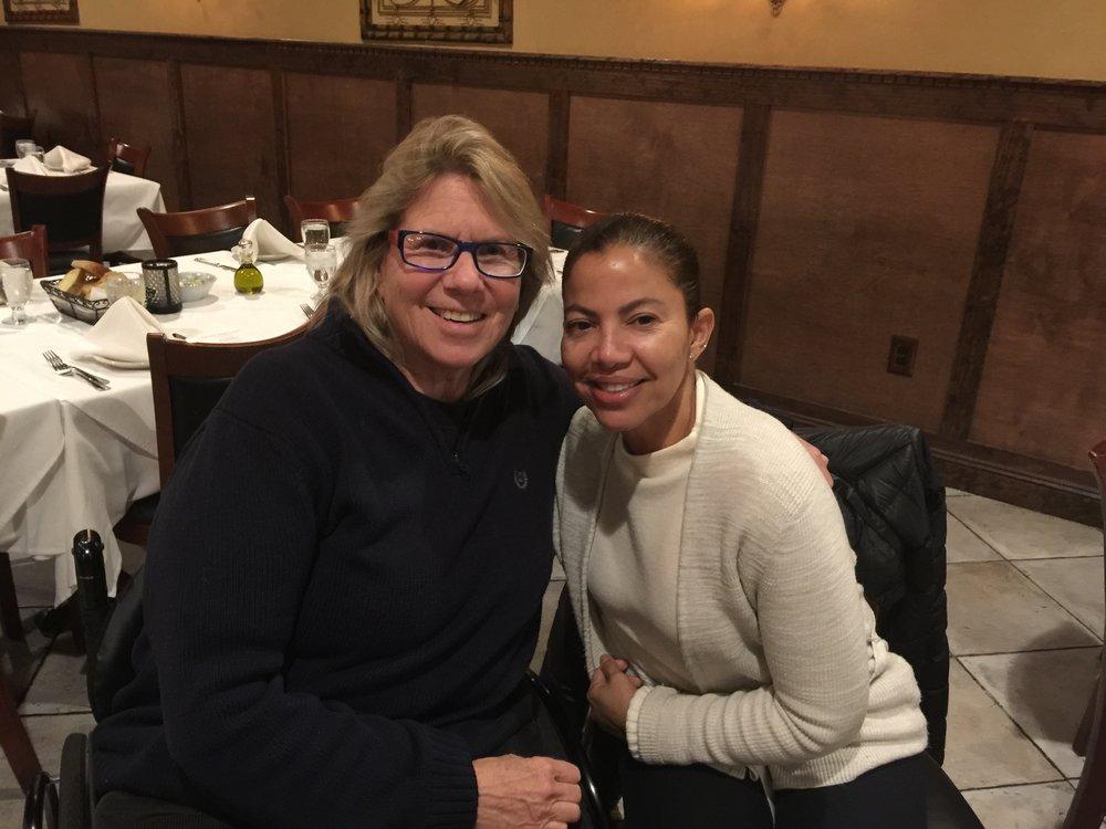 Caren Landis and Janet Gonzalez
