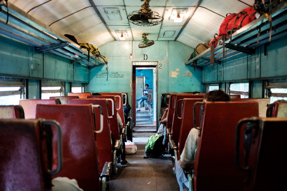 Copy of view into a sri lankan train