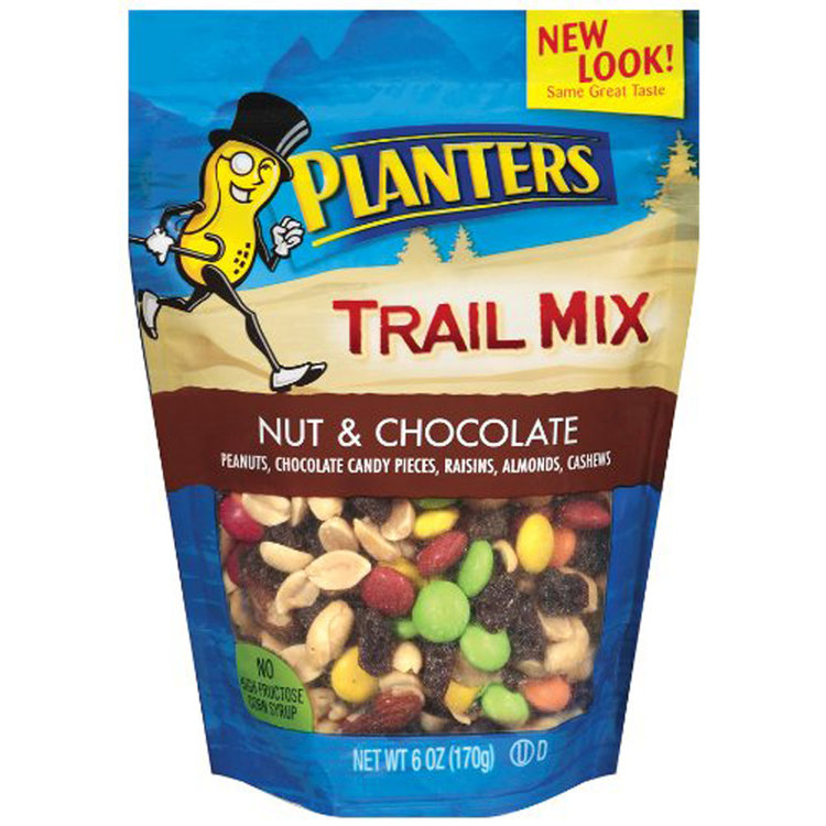 with planter planters trail back recipe turning packed protein clock peanuts mix salty the sweet