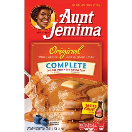 Aunt jemima original complete pancake waffle mix 80 oz box pijeo aunt jemima original complete pancake waffle mix 80 oz box ccuart Choice Image