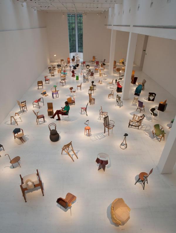 Refernce Picture: Triennale Design Museum, Milano, 2009 Åbäke/Martino Gamper