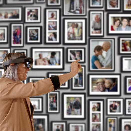 Hololens app:Memo - Mixed Reality, Hololens, UX research