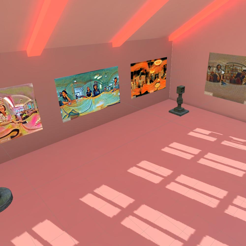 The Gallery Of Memories - Virtual Reaitly, Unity+GearVR