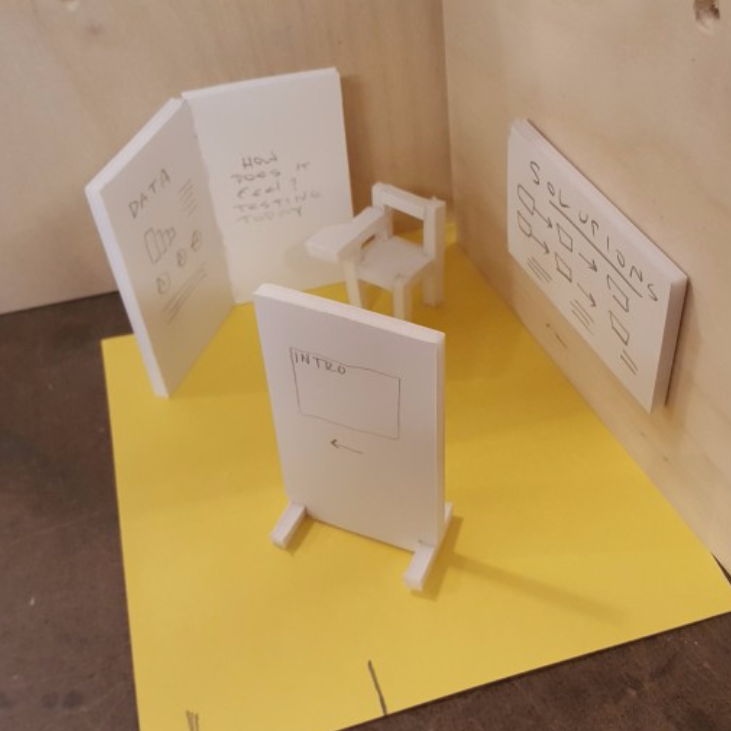 Closing the literacy gap - experience design, exhibition design