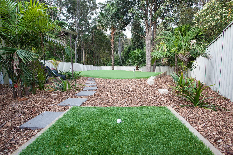 backyard golf greens