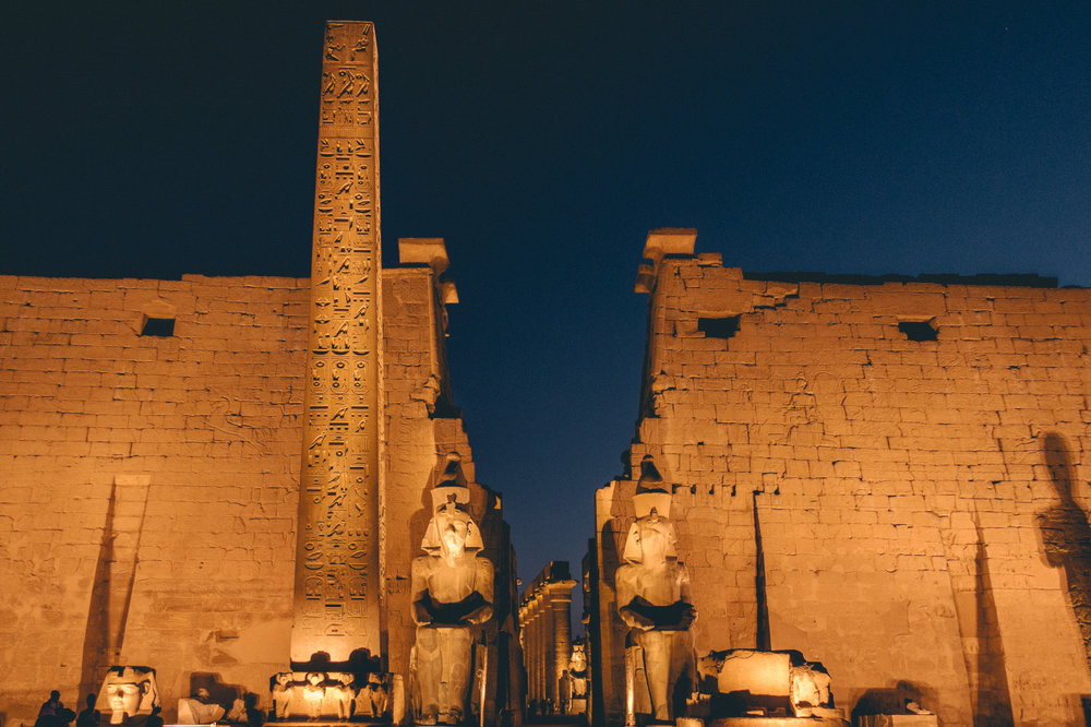 Temple of Luxor // Luxor, Egypt // Photo Credit: Pete R