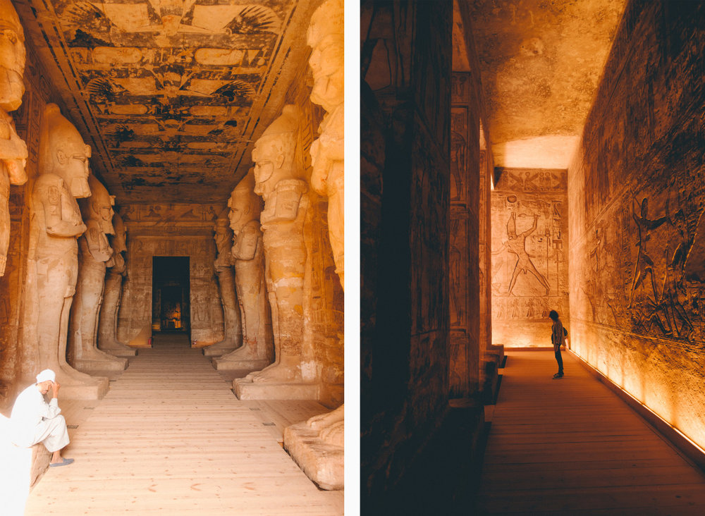 Abu Simble Temples // Aswan, Egypt // Photo Credit: Peter R.