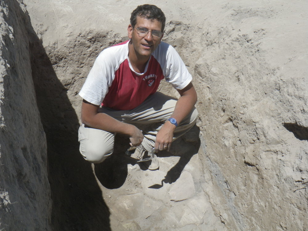 Lorenzo d'Alfonso, Associate Professor of Ancient Western Asian Archaeology and History, ISAW