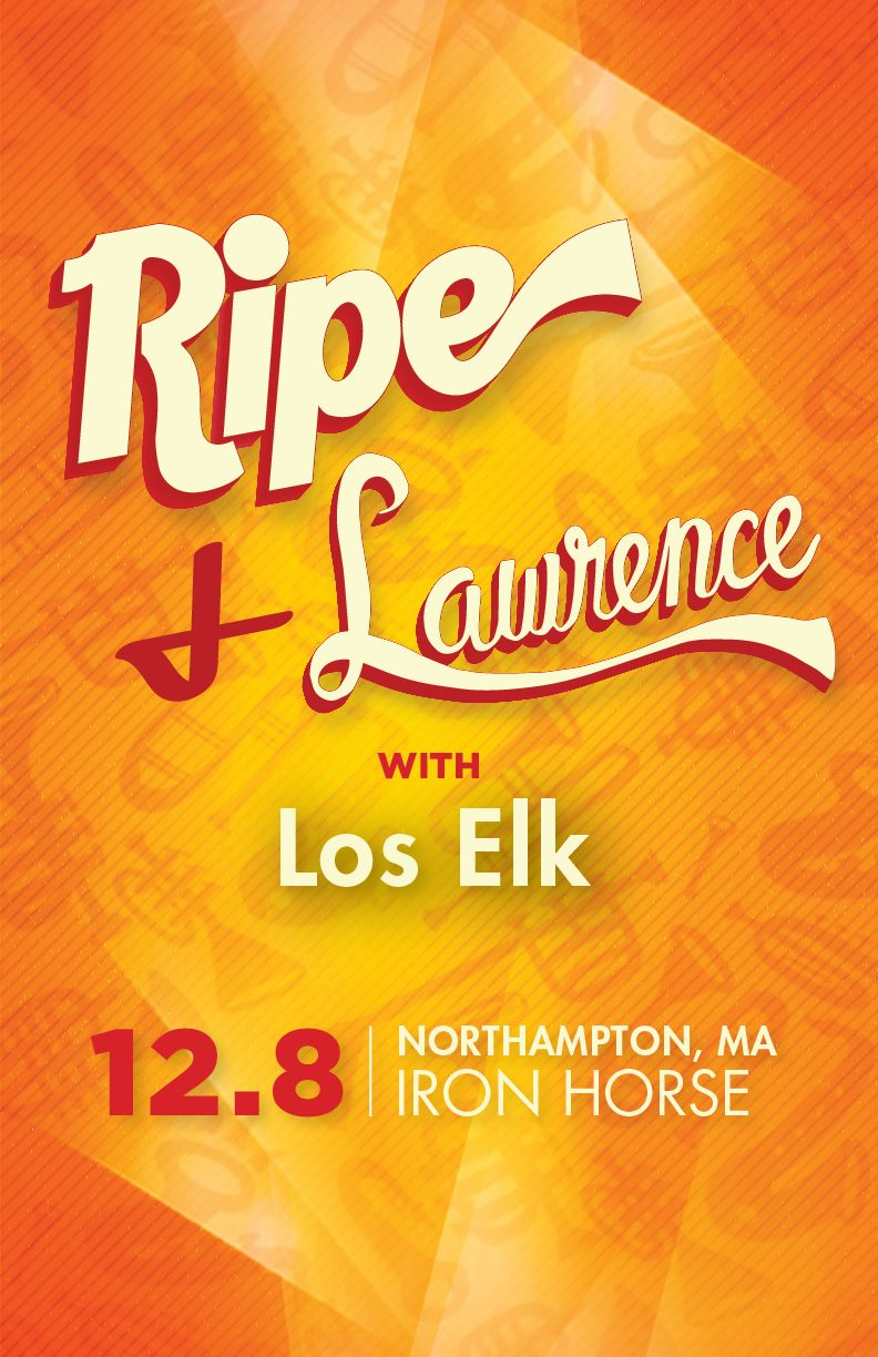 Los Elk, 12/8/16, Iron Horse in Northampton MA, featured guest/performer, gig.