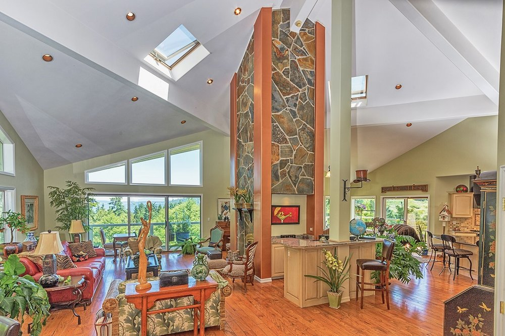 port ludlow, olympic peninsula, custom home