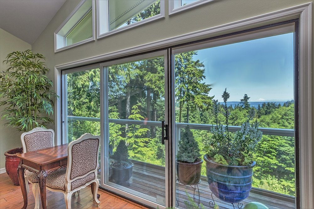olympic peninsula, custom home, view