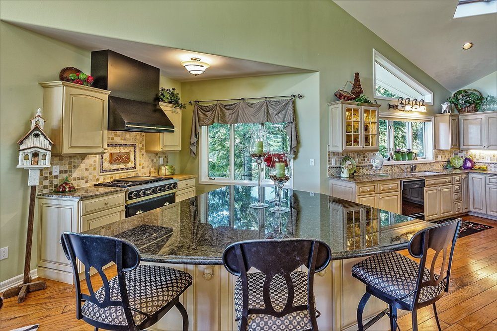 kitchen, port ludlow property, olympic peninsula