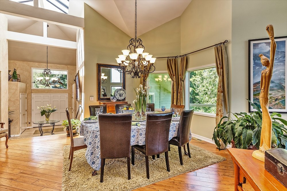 dining area, open floor plan, port ludlow