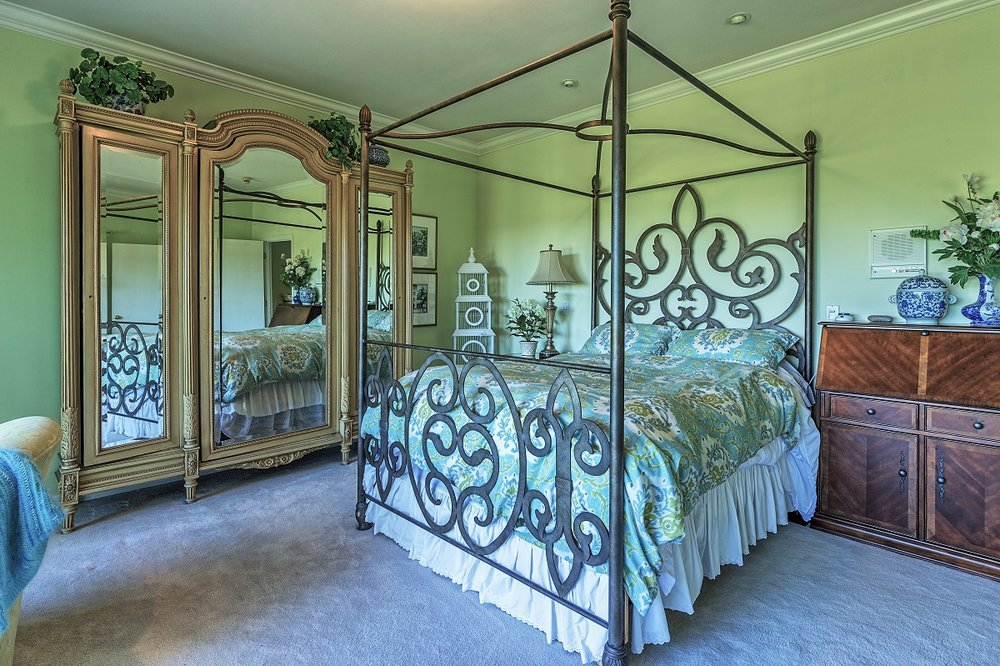 bedroom, port ludlow property, olympic peninsula