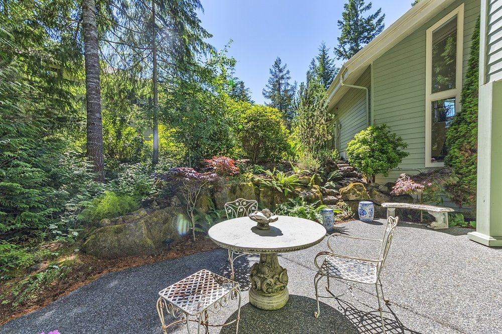 garden, port ludlow property, backyard