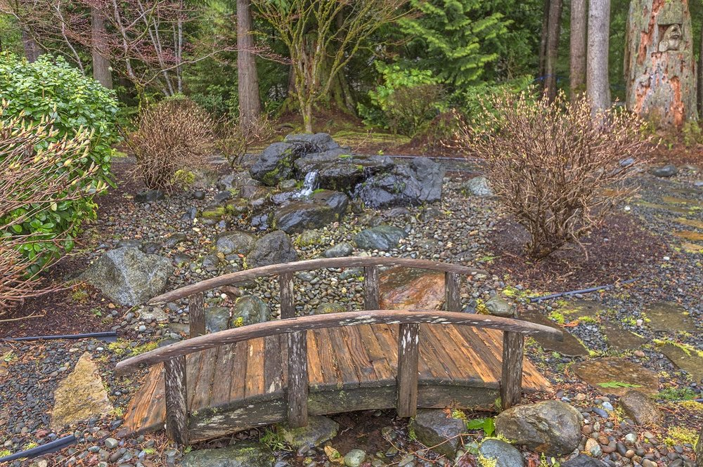 landscaping, port ludlow, bridge